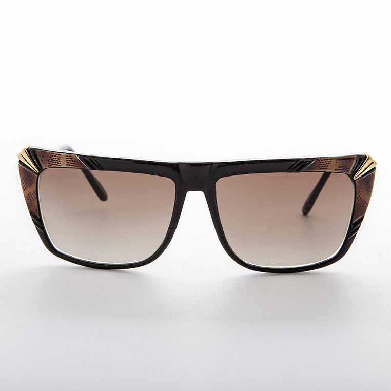 flat top vintage hip hop women's sunglass