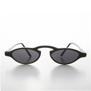 Small Slim Edgy Rare 90s Sleek Vintage Sunglasses