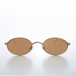 Load image into Gallery viewer, Oval 90s Vintage Sunglass with Intricate Temple
