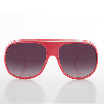 Neon Aviator Sporty Fashion 90s Sunglass
