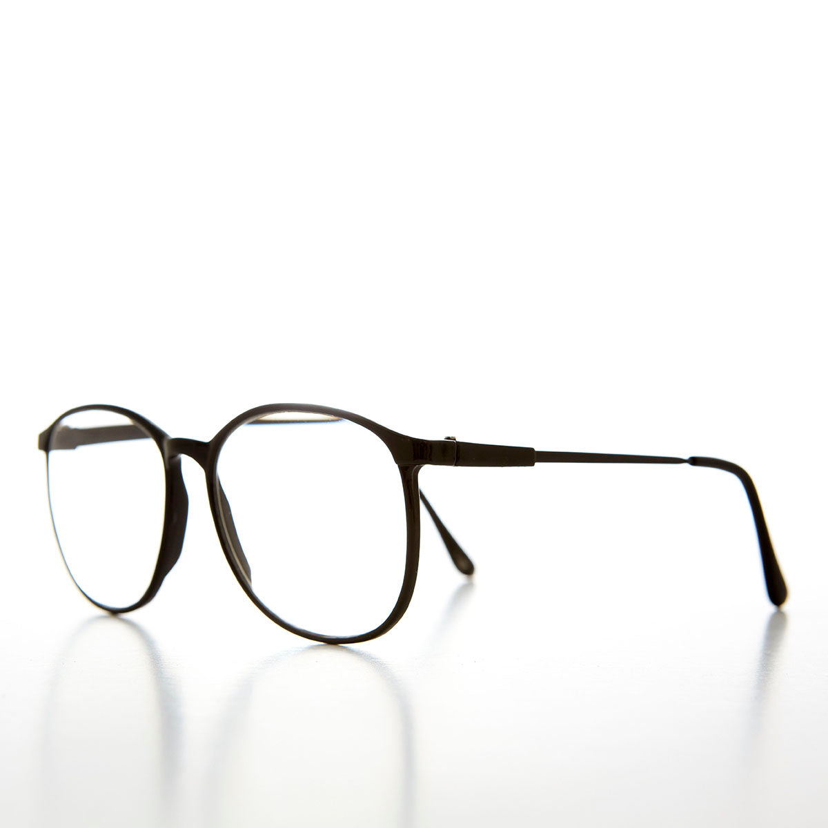 Oversized Preppy Round Vintage Optical Quality Reading Glasses