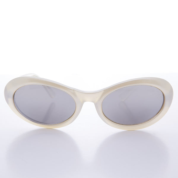 pearl oval cat eye kurt cobain sunglasses
