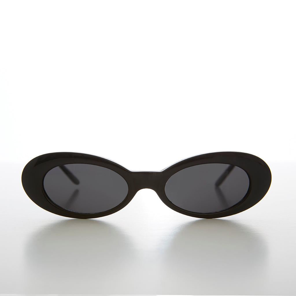 Narrow Oval Cat Eye 90s Vintage Sunglass