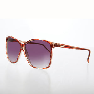 Large Retro Women's Vintage Sunglass