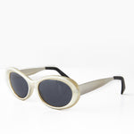 Load image into Gallery viewer, Oval Mod Punk Cateye 90s Vintage Sunglass