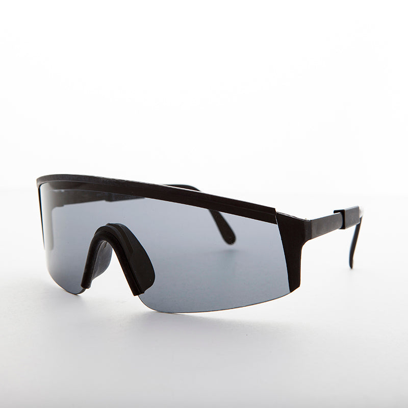 sports shield vintage sunglasses