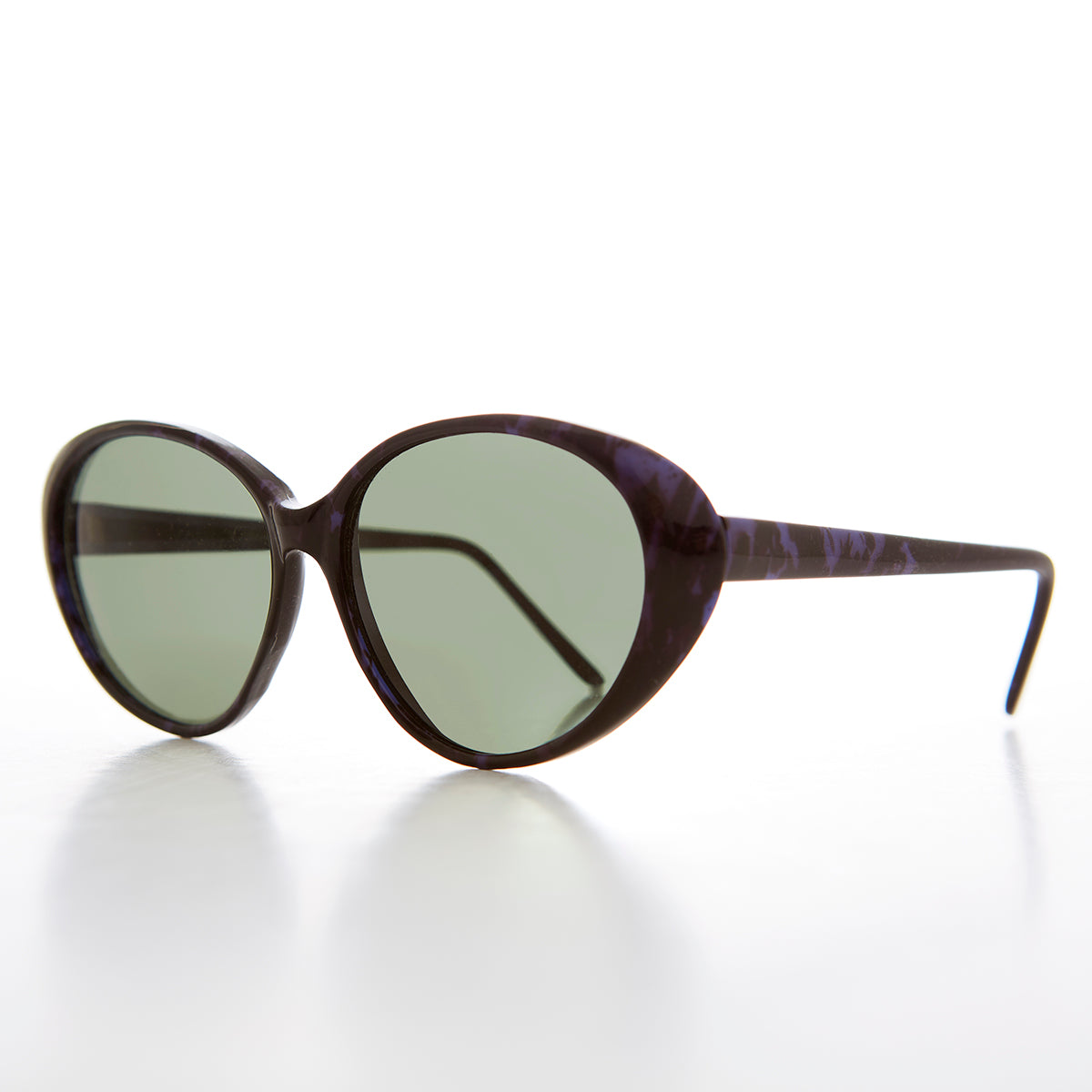 Large Oval Cat Eye Sunglass