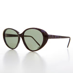 Load image into Gallery viewer, Large Oval Cat Eye Sunglass