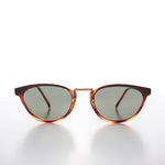 Load image into Gallery viewer, Small Cat Eye Sunglass with Gold Accents