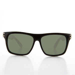 Classic Square Large Horn Rim Deadstock Sunglass