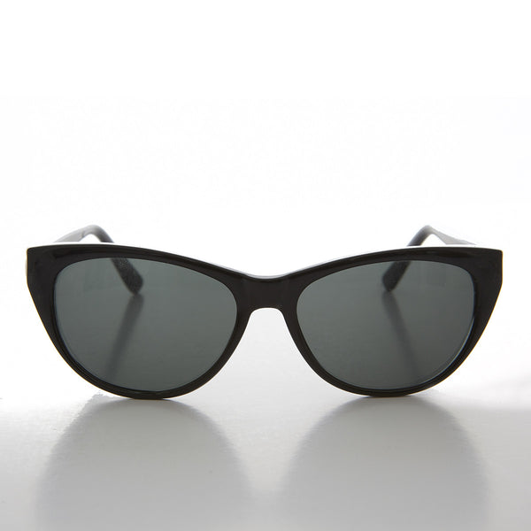 black cat eye women's sunglass