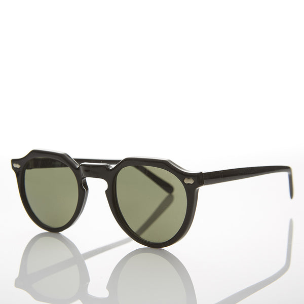 spike lee horn rim sunglasses