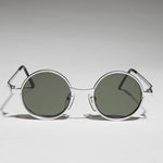 Load image into Gallery viewer, rx optical quality round steampunk 90's vintage sunglass