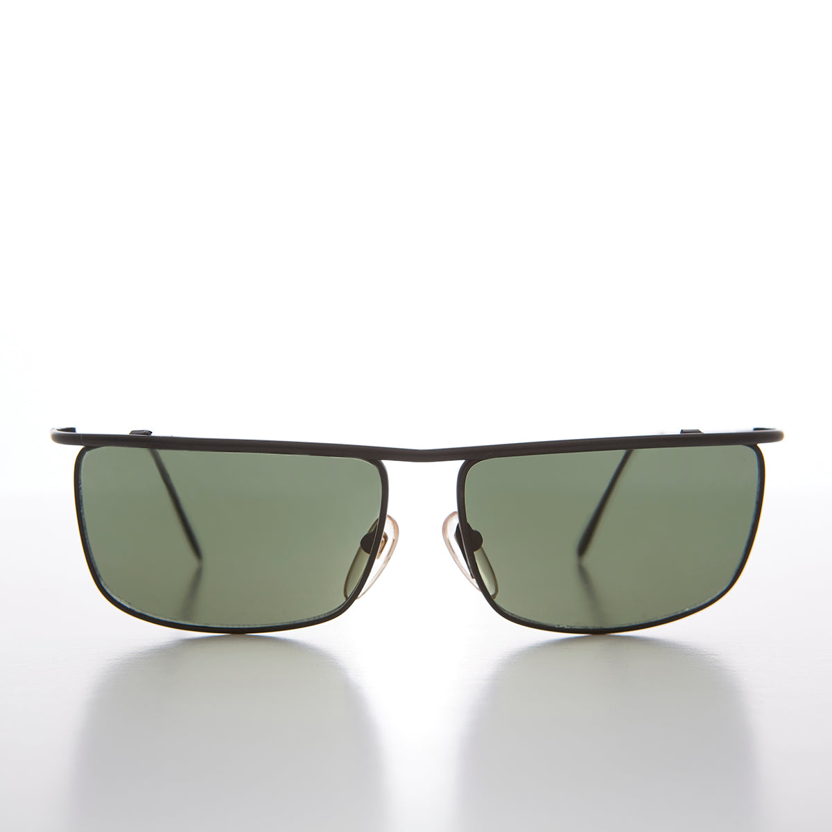 Unique Metal Street Style Men's Rectangular Vintage Sunglass