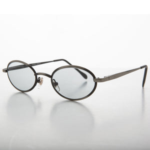 1990s oval transition lens vintage sunglass