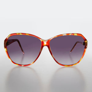 Round Oversized Multi-Colored Vintage Sunglass
