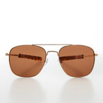 Load image into Gallery viewer, Square Aviator Sunglass with Polarized Lens