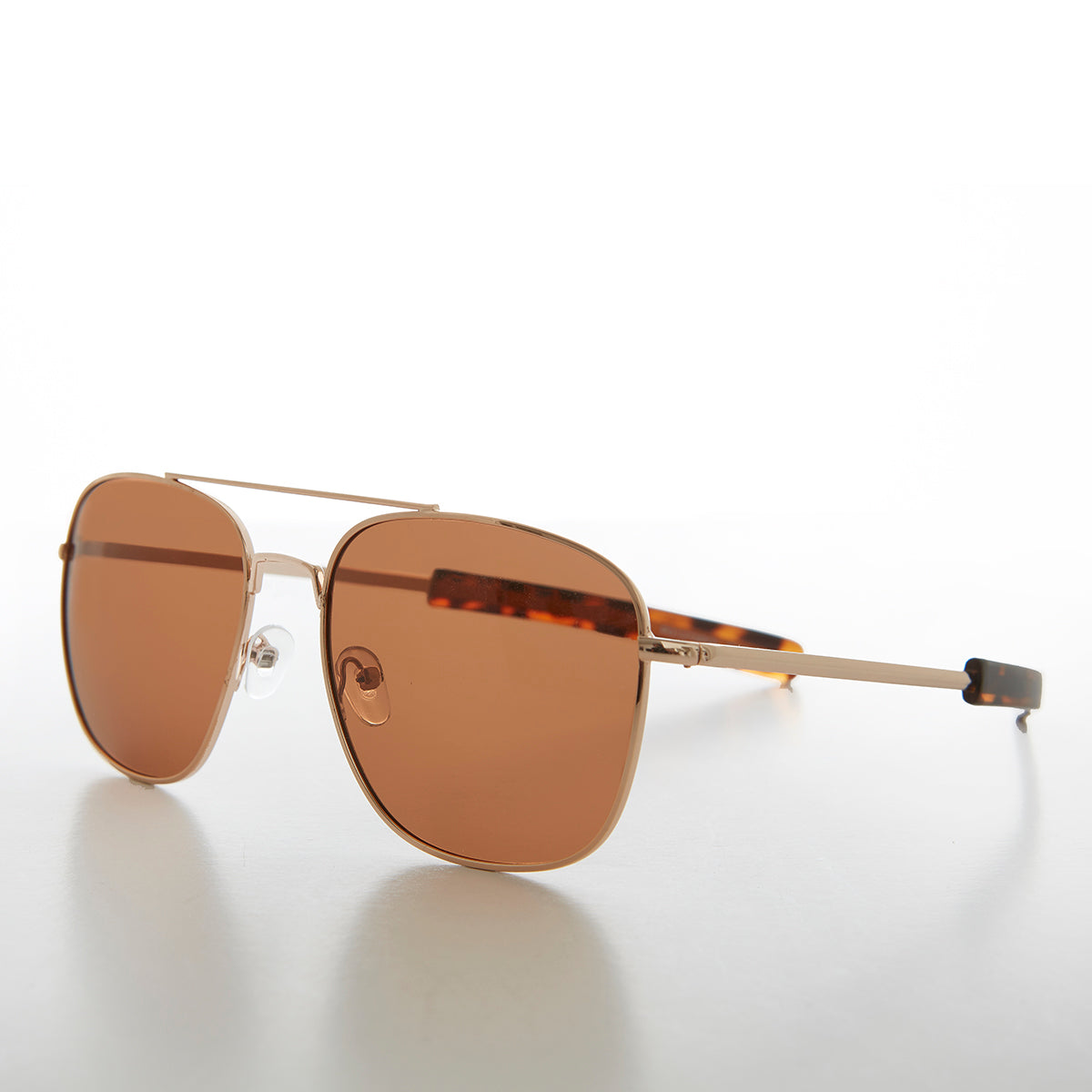Square Aviator Sunglass with Polarized Lens