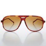 Load image into Gallery viewer, Square Vintage 80s Classic Aviator with Gradient Lens