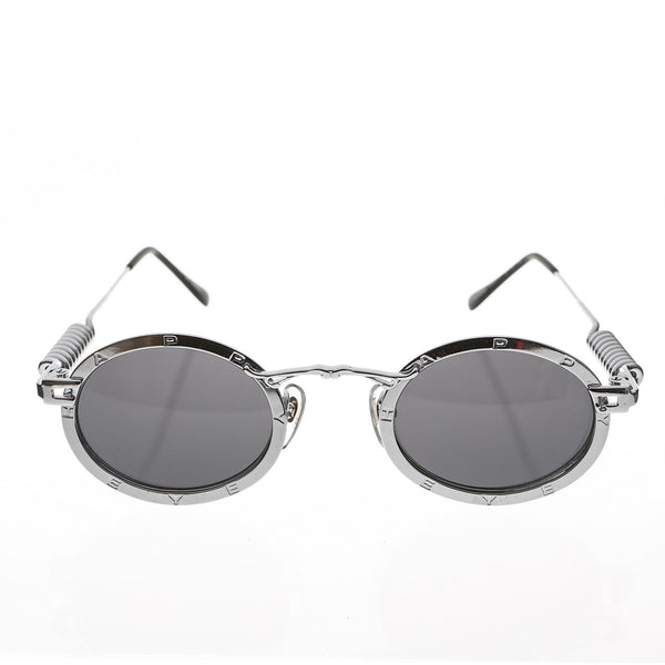 Industrial Oval Metal Steampunk Sunglasses - Nomad