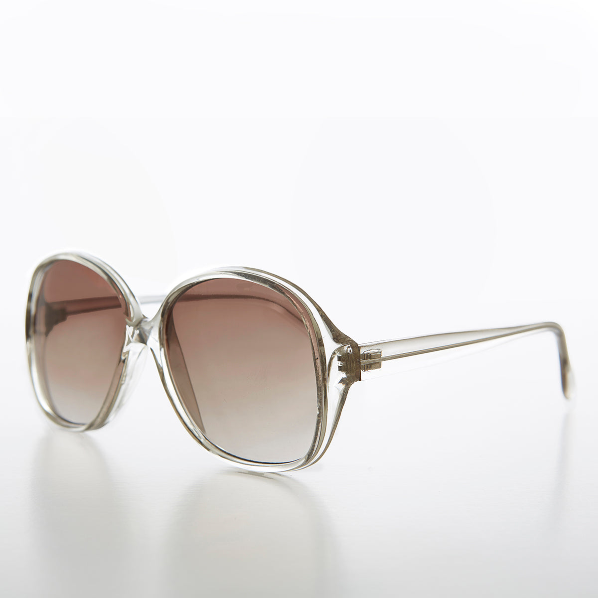 Oversize Square Retro Women's Sunglass with Gradient Lens