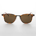 Load image into Gallery viewer, dapper horn rim vintage sunglass with combo metal acetate frame