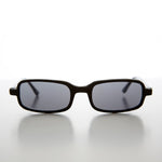 Load image into Gallery viewer, Mod Rectangular Vintage 90s Sleek Hipster Sunglass