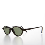 Load image into Gallery viewer, Small Oval Slim Edgy Hipster Vintage 1990s Sunglass