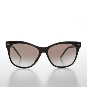 Gradient Lens Cat Eye Optical Quality Vintage Sunglass