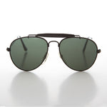 Load image into Gallery viewer, Classic Aviator Kids Sunglass with Brow Bar
