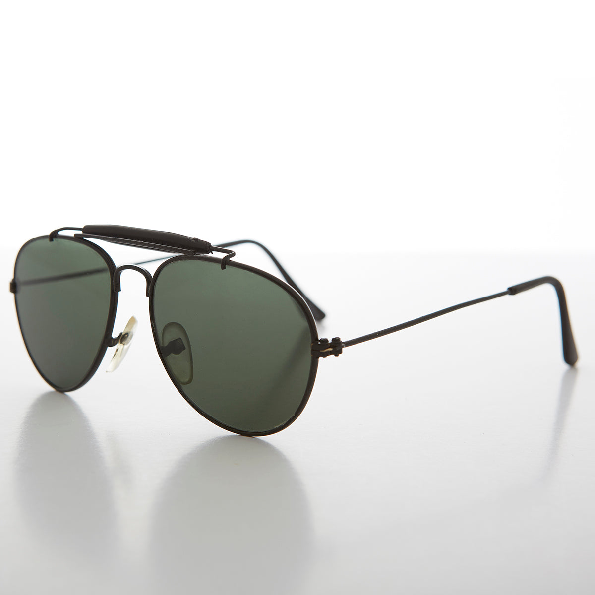 Classic Aviator Kids Sunglass with Brow Bar