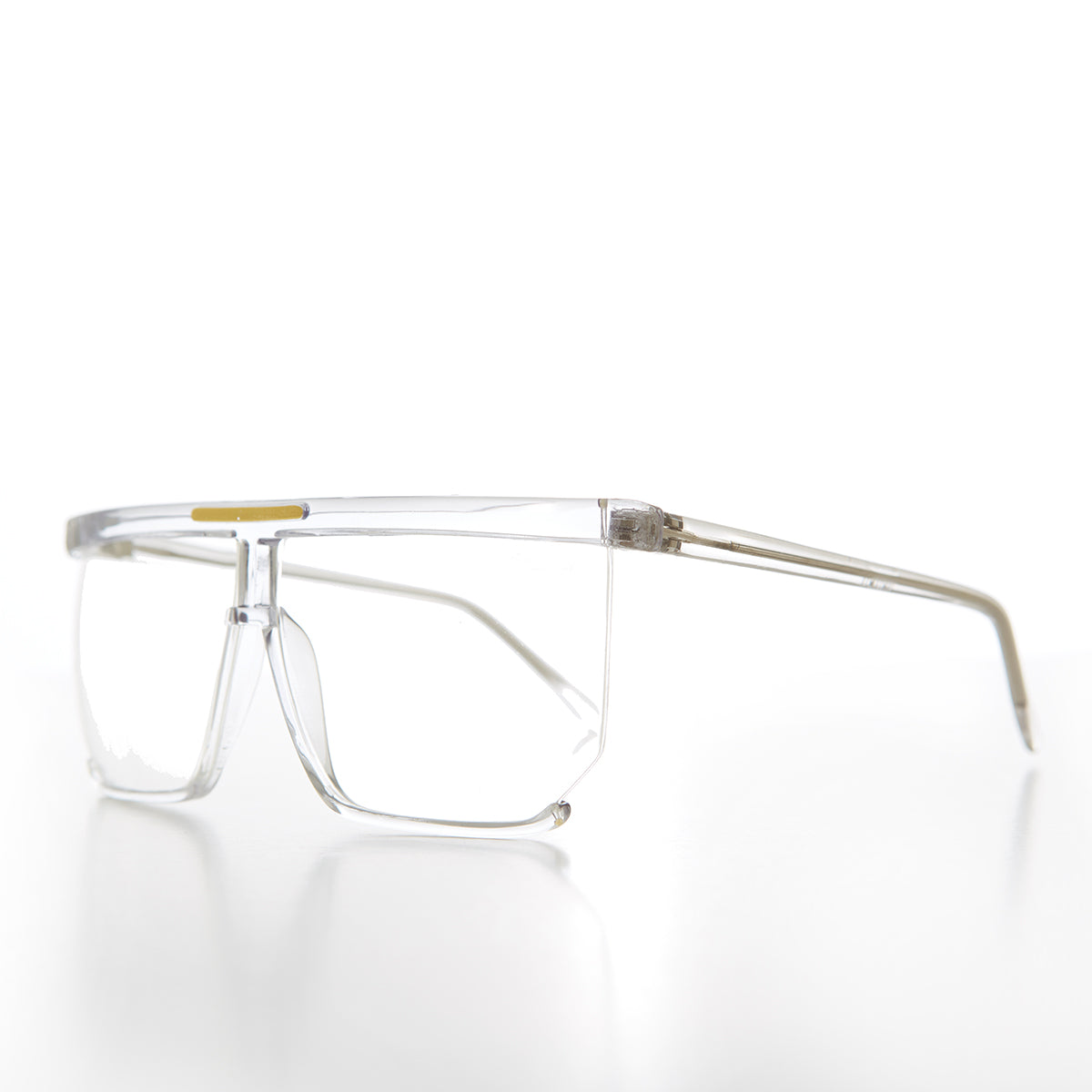 Flat Top Protective Safety Eyeglasses - Plot