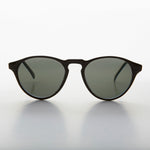 Load image into Gallery viewer, Horn Rim Round Dapper Pantos Vintage Sunglass with Keyhole Bridge - Randy