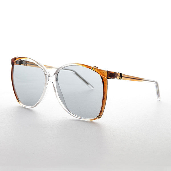 073f70ed97 womens butterfly vintage sunglasses with corning usa transition lens