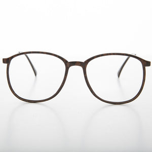 REM vintage 1980s clear lens glasses