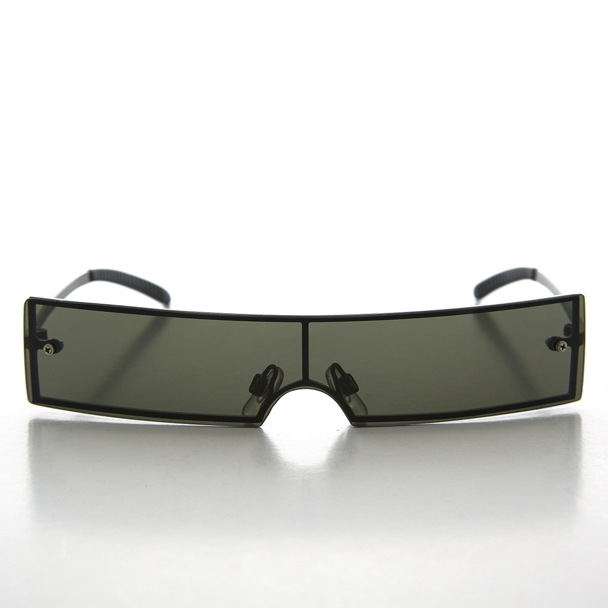 Futuristic Punk  Rave Burning Man 1990s Vintage Sunglass