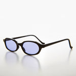 Load image into Gallery viewer, Slim Hippie Purple Tinted Lens 90s Vintage Sunglass