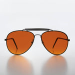 Load image into Gallery viewer, Classic Metal Aviator with Amber Lens