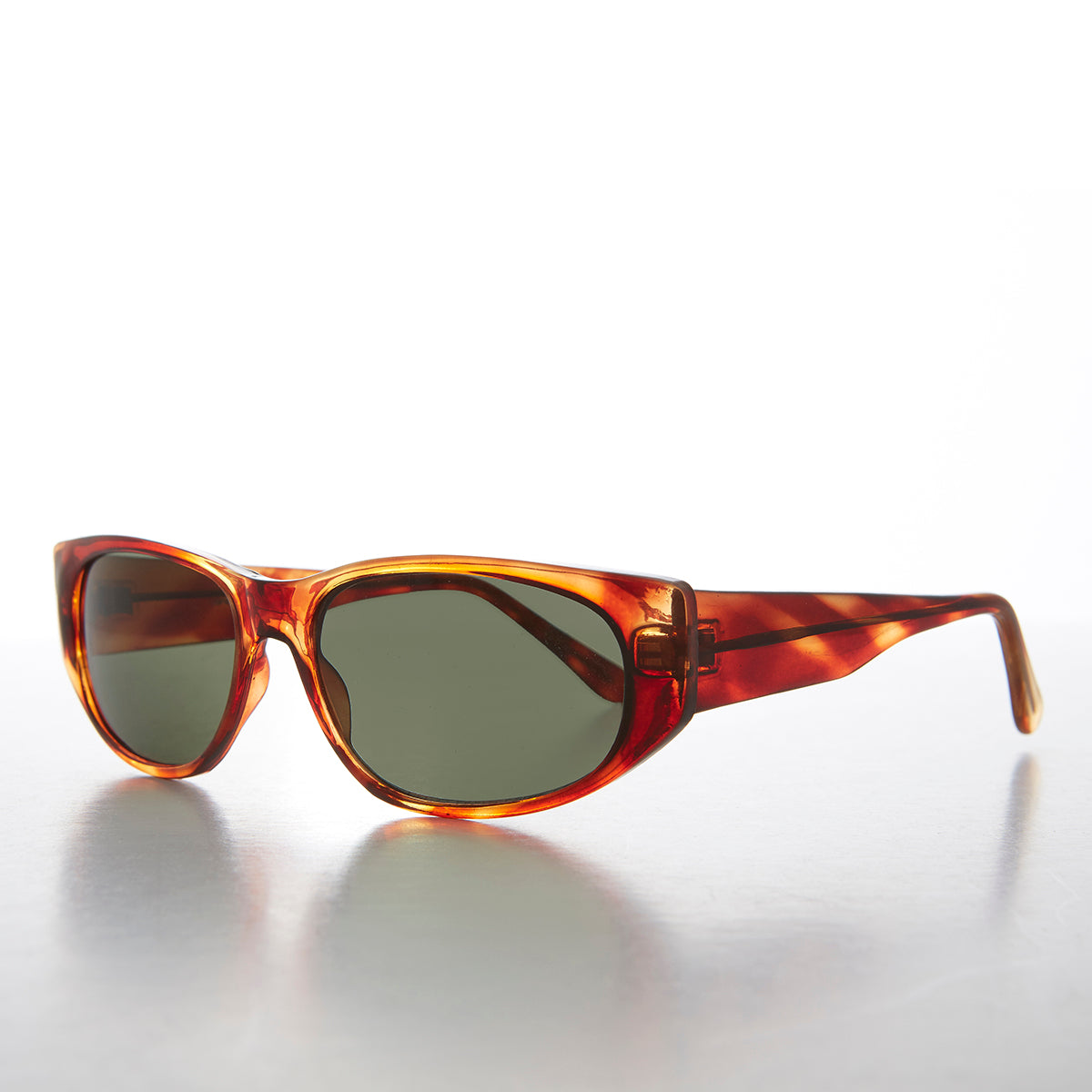 Wide Slim Rectangular Sporty Hipster Vintage Sunglass