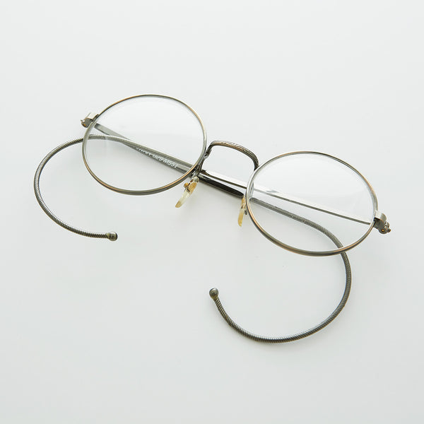 bb919d35a9 Small Round John Lennon Victorian Spectacle Vintage Eyeglasses with Ca –  Sunglass Museum