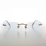 Load image into Gallery viewer, Rimless Tinted Rectangular Lens Reading Glasses