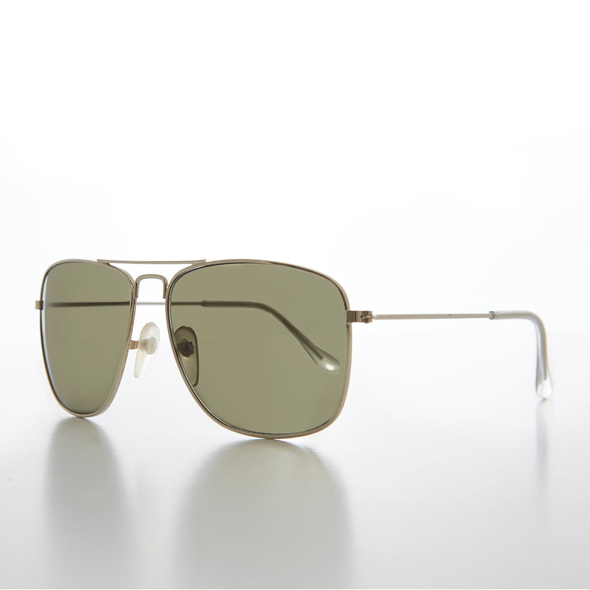Square 58mm Aviator Sunglass