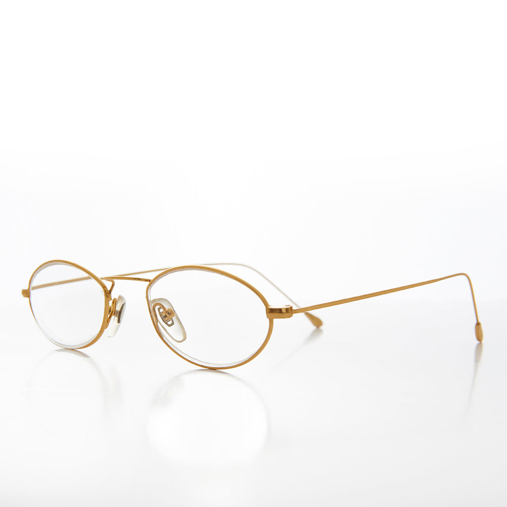 Ultra Lightweight Gold Reading Glasses