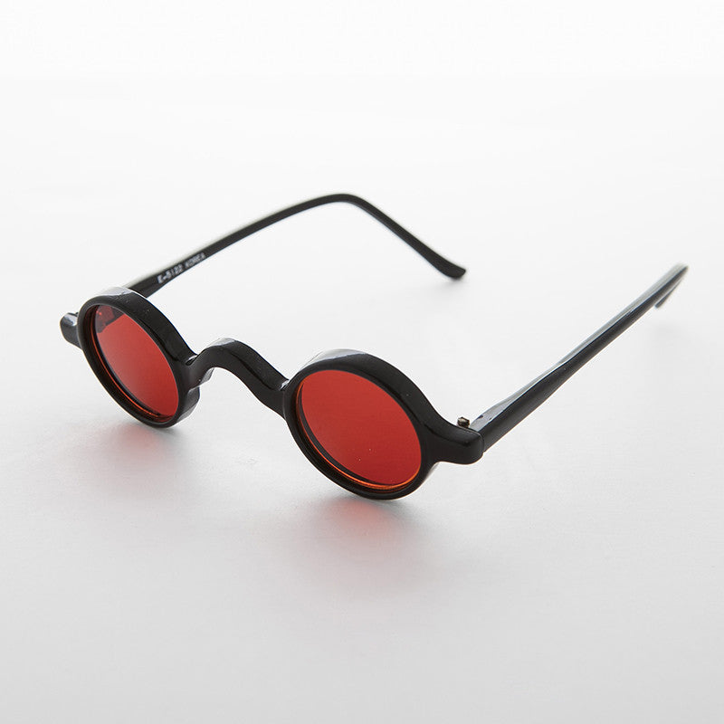 red round victorian colored lens retro vintage sunglasses