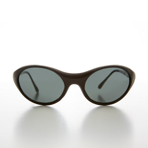 Bug Eye Goggle Wrap Vintage Sunglass