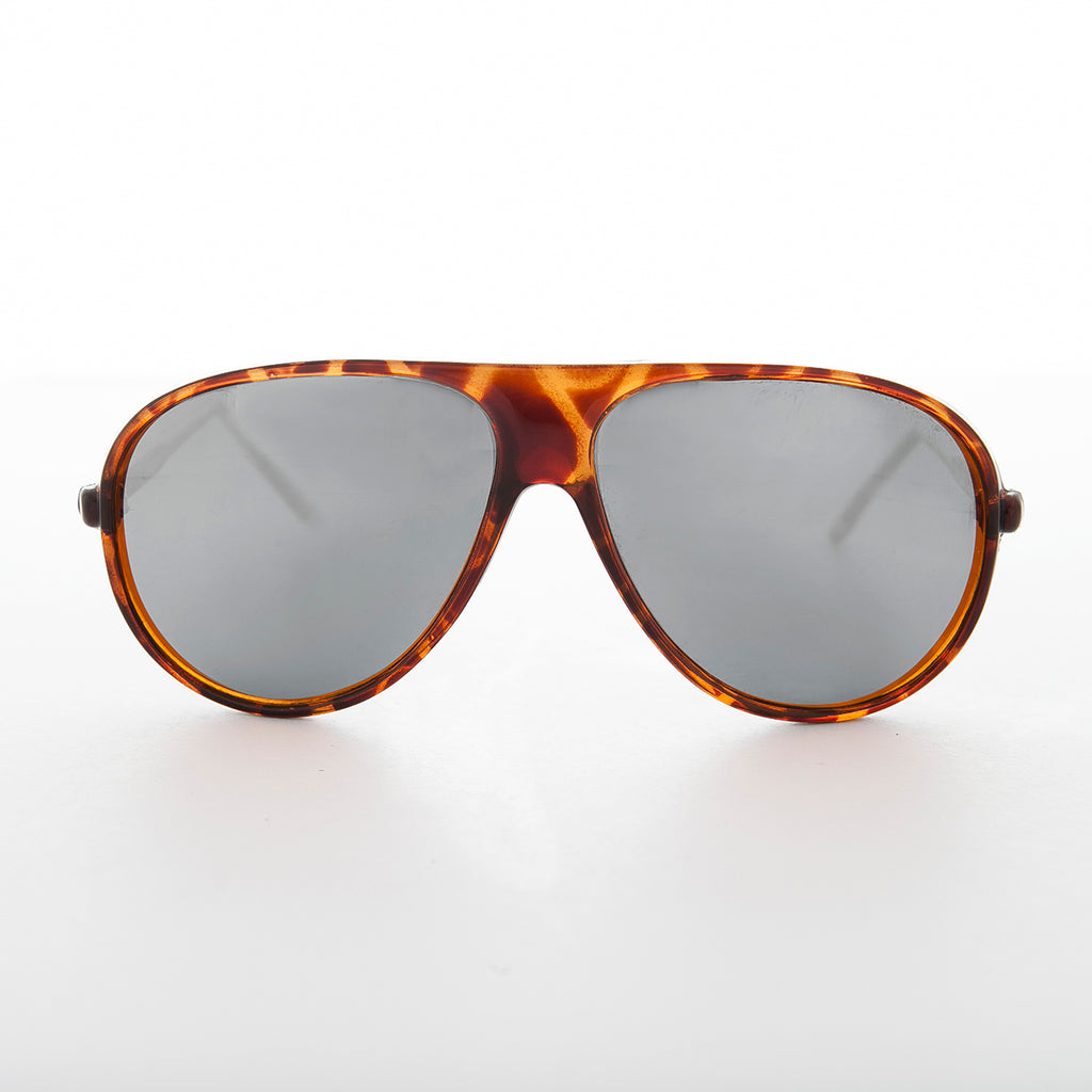 Tortoise Aviator with Transition Lens