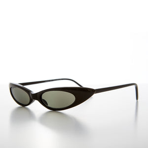Skinny Narrow Punk Rock Cat Eye Sunglass