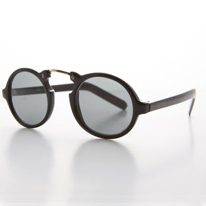 round biker great gatsby vintage sunglasses
