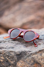 Load image into Gallery viewer, Round 1940s Retro Steampunk Vintage Sunglass - Dieselpunk