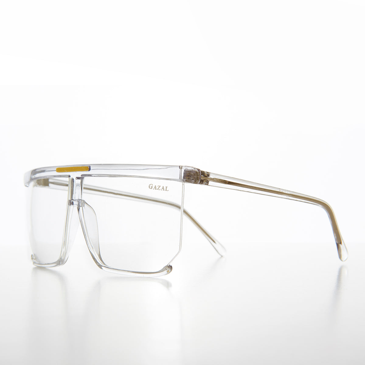 Hip Hop Rapper Clear Lens Vintage Glasses